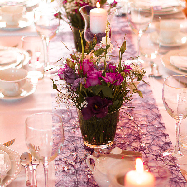 Tischdeko Geburtstag Catering