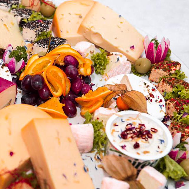 Käseplatte Partyservice Meyer Catering