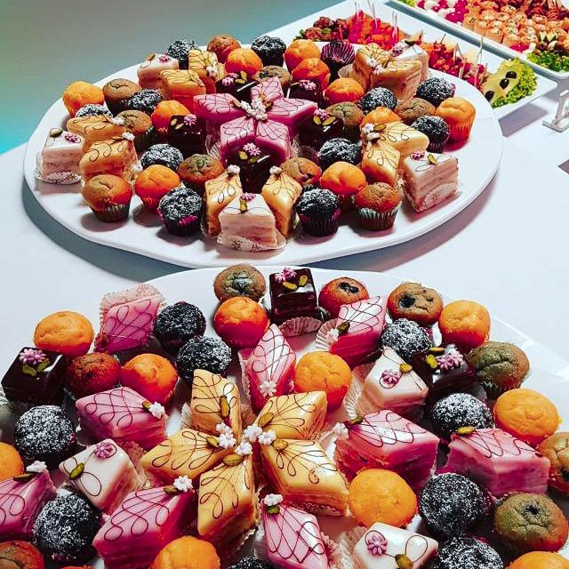 Dessert Jubiläum feiern Catering