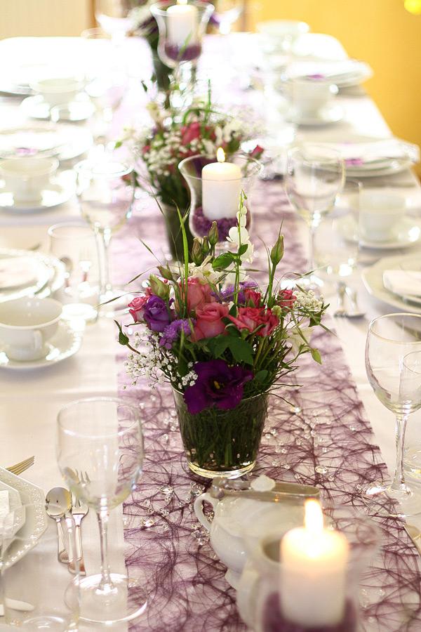 Partyservice Meyer Caterer Tischdeko